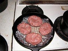 燻製ハンバーグ